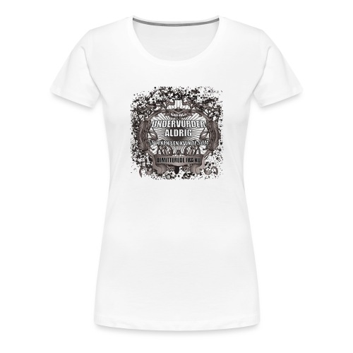 KU Dimittend - Dame premium T-shirt