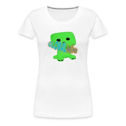 GlobalMine Creeper - Maglietta Premium da donna