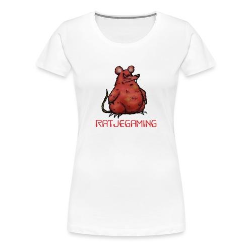 RatjeGaming Onderzetters - Vrouwen Premium T-shirt