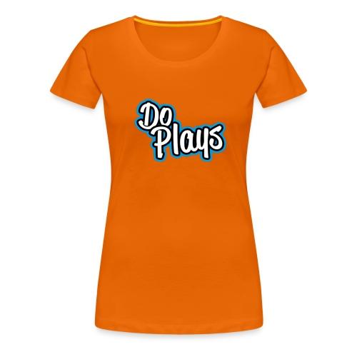 Gymtas | Doplays - Vrouwen Premium T-shirt