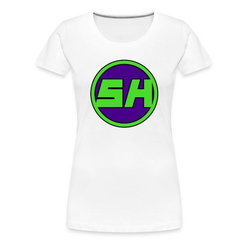 SkyHyperion Classic Colours - White - Women's Premium T-Shirt