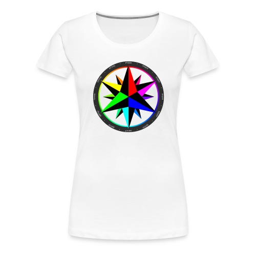 ColorCompass - Women's Premium T-Shirt