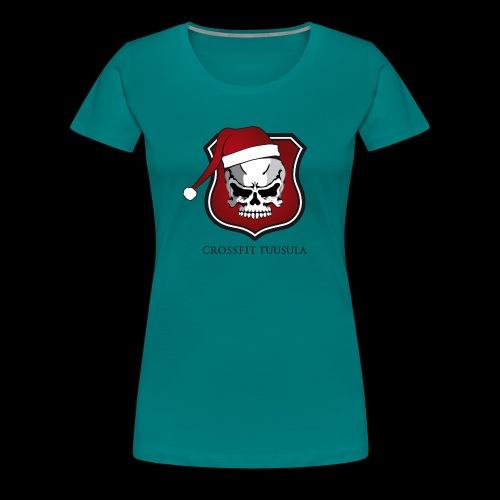 CrossFit Tuusula Xmas - Naisten premium t-paita