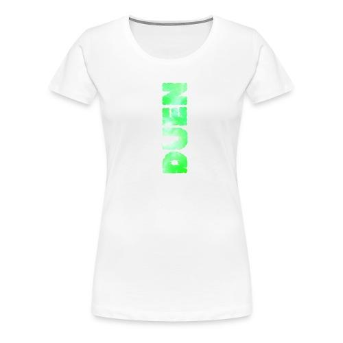 Duens Cover - Dame premium T-shirt