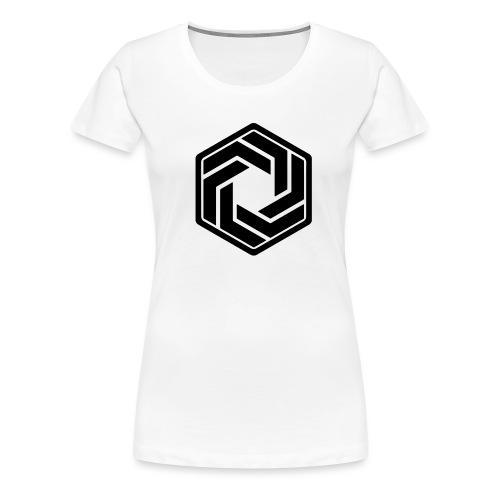 BW Logo White Shirt - Women's Premium T-Shirt