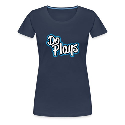 Mannen Baseball   Doplays - Vrouwen Premium T-shirt