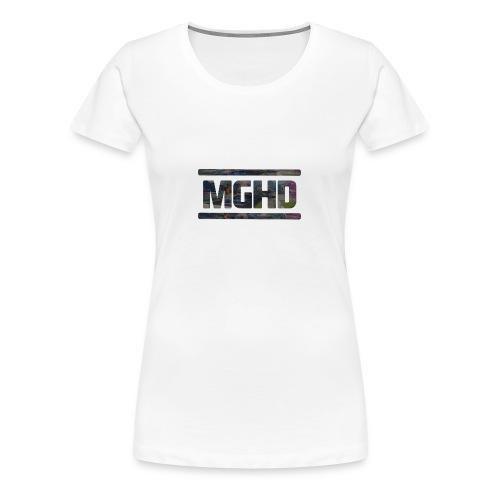 MGHD WHITE T-SHIRT - Women's Premium T-Shirt