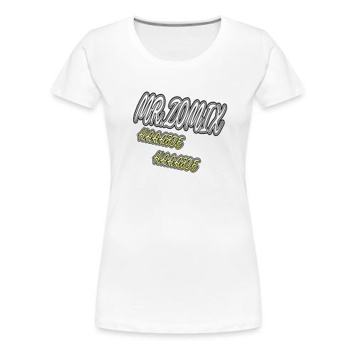 HAAAJDE Mr. Zomix - Frauen Premium T-Shirt