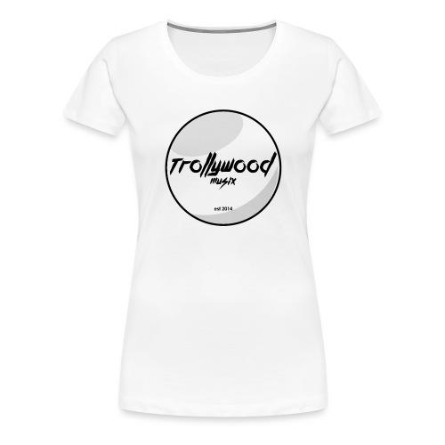 TWM   Black Circle   Transparent - Frauen Premium T-Shirt