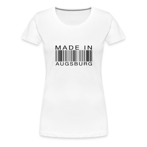 Made in Augsburg - Frauen Premium T-Shirt