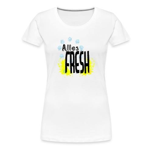 Alles Fresh / Frisch Sommer Eis - Frauen Premium T-Shirt