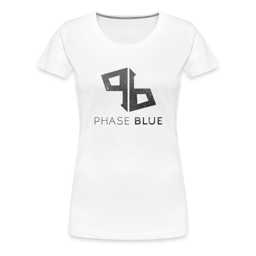 Phase Blue Baseball Shirt - Women's Premium T-Shirt