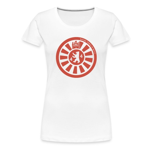 Logo RT44 Berlin 2016 pure red 4000px png - Frauen Premium T-Shirt