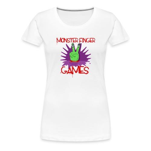 Monster Finger Games Logo - Women's Premium T-Shirt