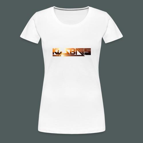Camiseta KizzBass (Diseño Verano) - Camiseta premium mujer