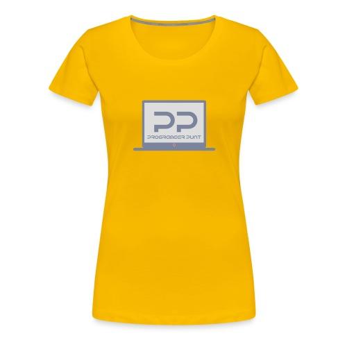 muismat met logo - Vrouwen Premium T-shirt