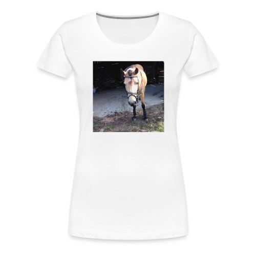 Häst - Premium-T-shirt dam