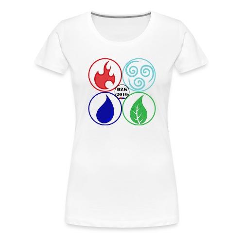 STUITERELEMENTEN2 - Vrouwen Premium T-shirt