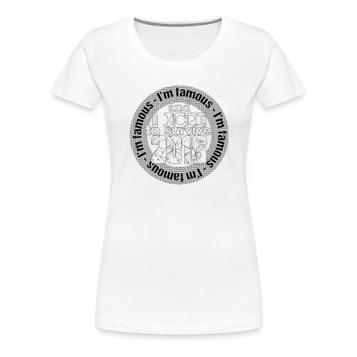 Survivor - T-shirt Premium Femme