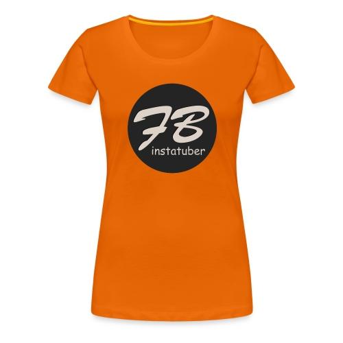 TSHIRT-INSTAGRAM - Vrouwen Premium T-shirt