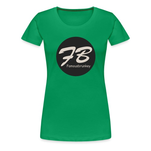TSHIRT-FAMOUSBRUNKEY - Vrouwen Premium T-shirt