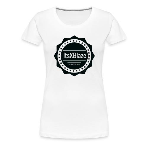 ItsXBlaze Logo 2 Women V-neck option 2 - Vrouwen Premium T-shirt