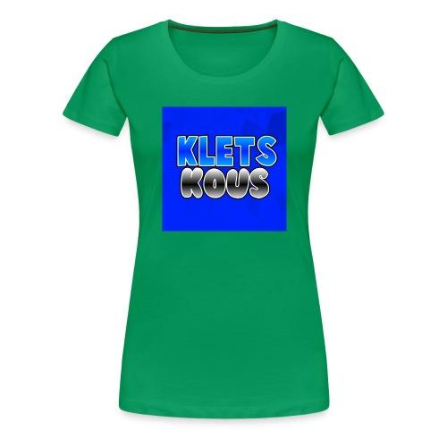 Kletskous Muismat - Vrouwen Premium T-shirt