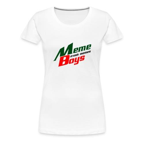 Memeboys Logo Shirt - Women's Premium T-Shirt