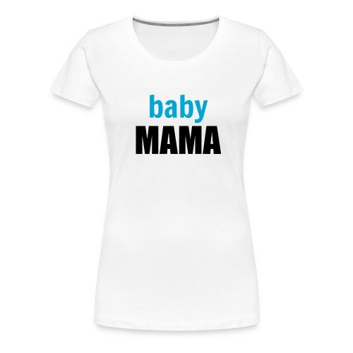 Baby boy mum mug - Women's Premium T-Shirt