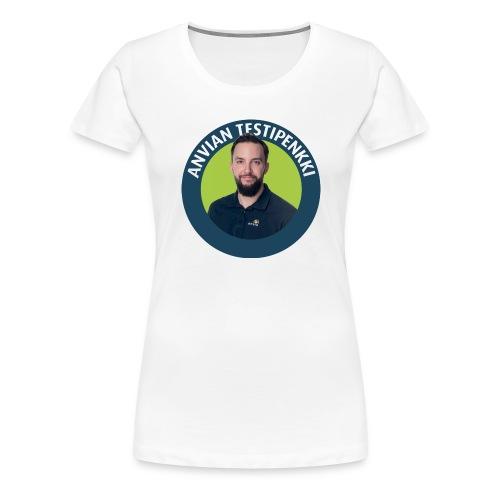 Tatu muki - Naisten premium t-paita