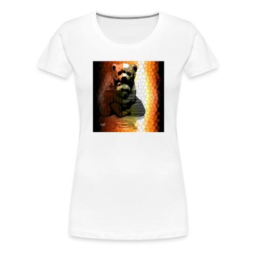 Ourse et Ourson - T-shirt Premium Femme