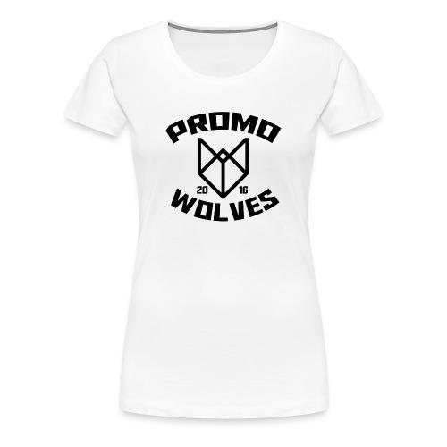 Big Promowolves longsleev - Vrouwen Premium T-shirt