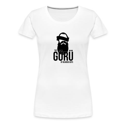 Bearded Guys Original - T-shirt Premium Femme