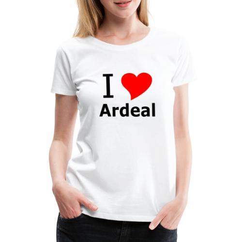 I Love Ardeal - Frauen Premium T-Shirt