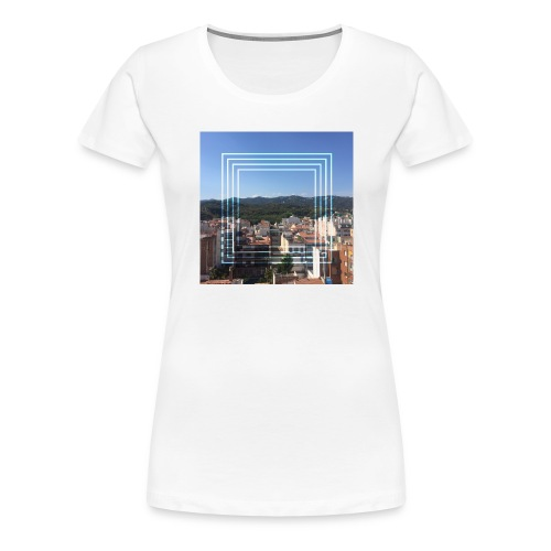Calella in June - Vrouwen Premium T-shirt