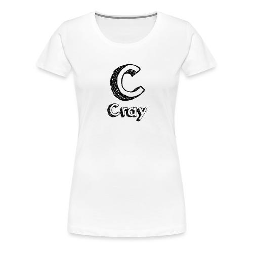 Cray Anstecker - Frauen Premium T-Shirt