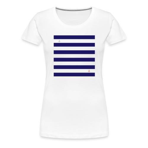 PRINT - Marinière - T-shirt Premium Femme
