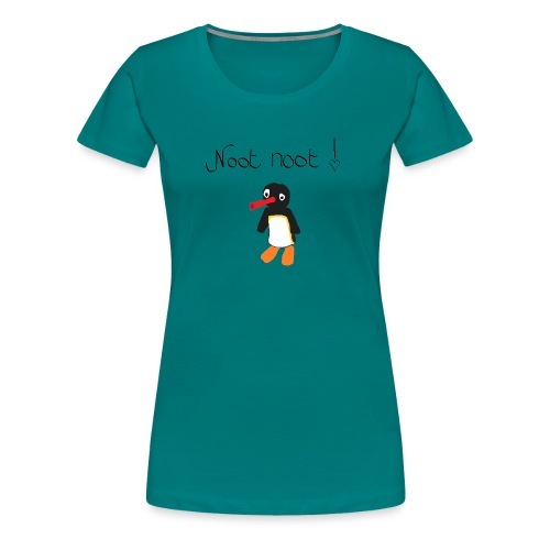 NOOWT NOOWT - Vrouwen Premium T-shirt