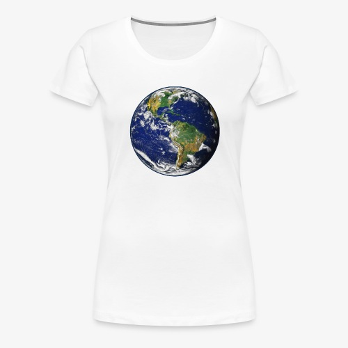 Earth png - Women's Premium T-Shirt