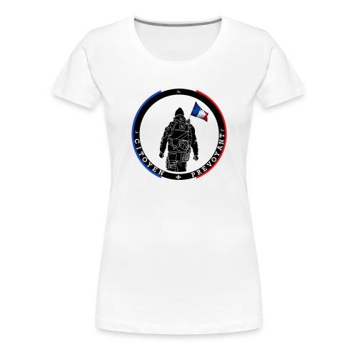 logo citoyen prevoyant2 - T-shirt Premium Femme
