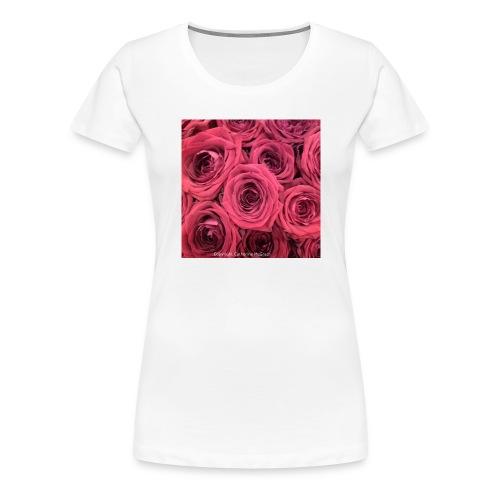 Red roses - Women's Premium T-Shirt
