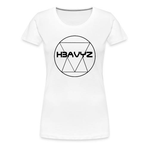 H3AVYZ- Pull gris chiné - T-shirt Premium Femme