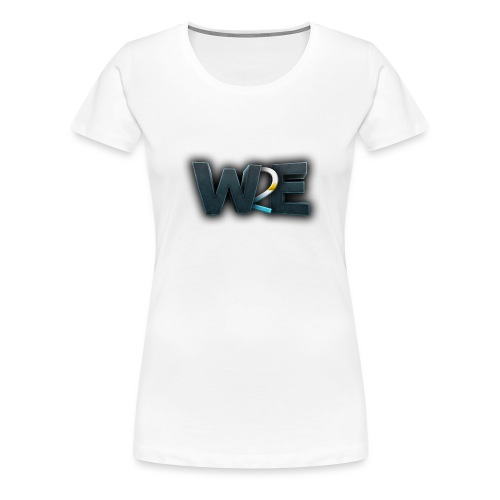 w2e 3d - T-shirt Premium Femme