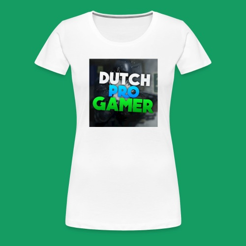 dpg logo groot png - Vrouwen Premium T-shirt
