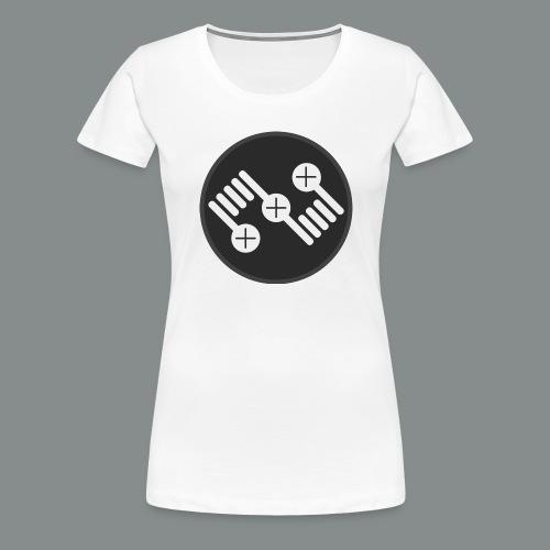 logo 2 png - Frauen Premium T-Shirt