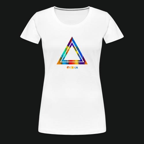 ØKUNA - Tee shirt logo - T-shirt Premium Femme