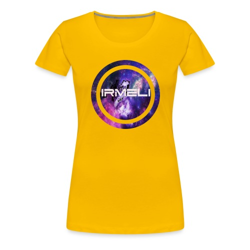 GALAXY LOGO - Naisten premium t-paita