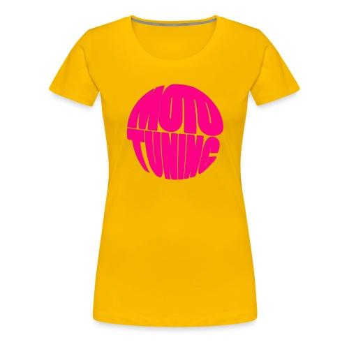 MotoTuning Pink - Women's Premium T-Shirt