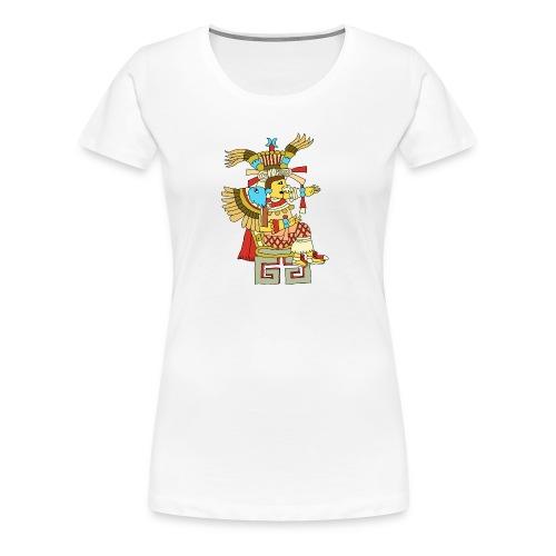 Xochiquetzal Aztec Aztekenmuster Hipster - Frauen Premium T-Shirt