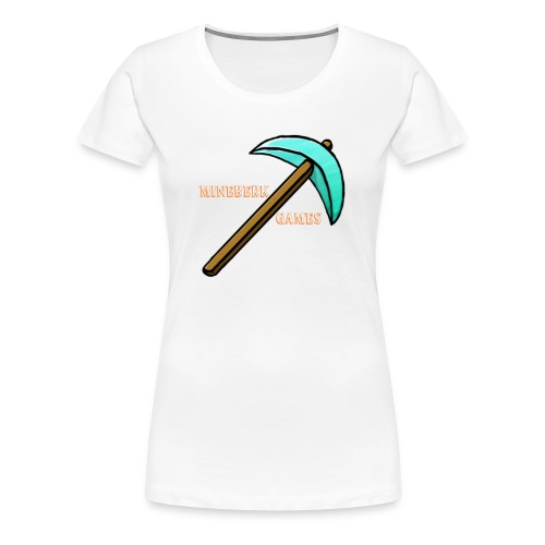 MineBerk Games Logo - Vrouwen Premium T-shirt